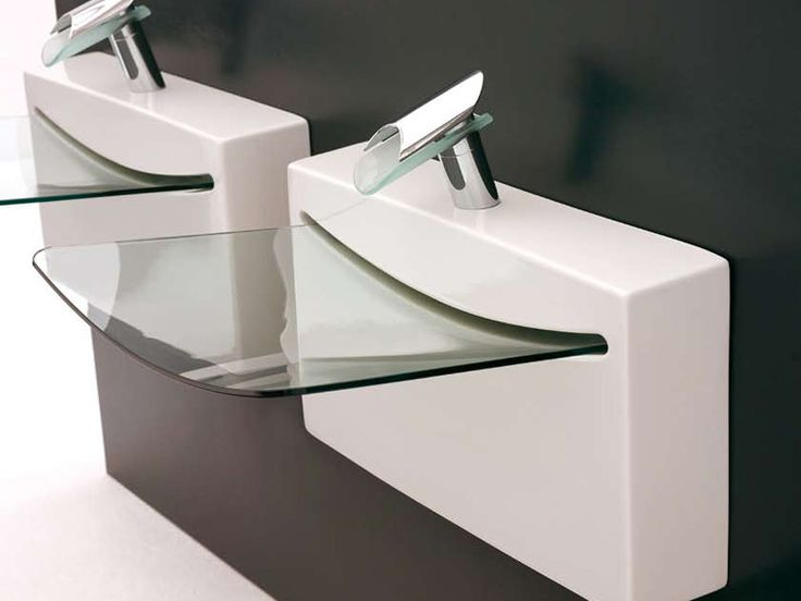 glass bowl sink wall mounted   Modern Sink With Transparent Glass Basin    Crystal by Artceram. Best 25  Glass basin ideas on Pinterest   Beach style mixing bowls