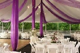 purple wedding reception decorationsReceptions Decor, Outdoor Wedding, Wedding Receptions, Decor Ideas, Wedding Decor, Wedding Ideas, Purple Wedding, Receptions Ideas, Wedding Plans Tips