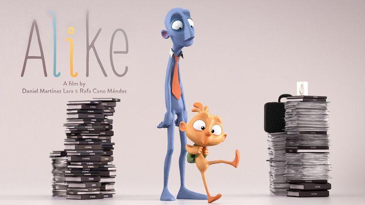 "CGI Animated Short Film HD: ""Alike Short Film"" by Daniel Martínez Lara & Rafa Cano Méndez - YouTube"