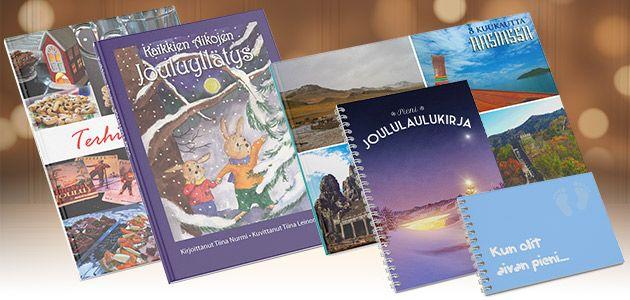 5 kuvakirjaideaa jouluksi. Tämän joulun yllättävimmät lahjakirjat koskettavat, hymyilyttävät ja tulevat suoraan sydämestä. Selaa kuvakirjoja  ja anna oman mielikuvituksesi lentää! - http://www.ifolor.fi/inspire_joululahjakirjat