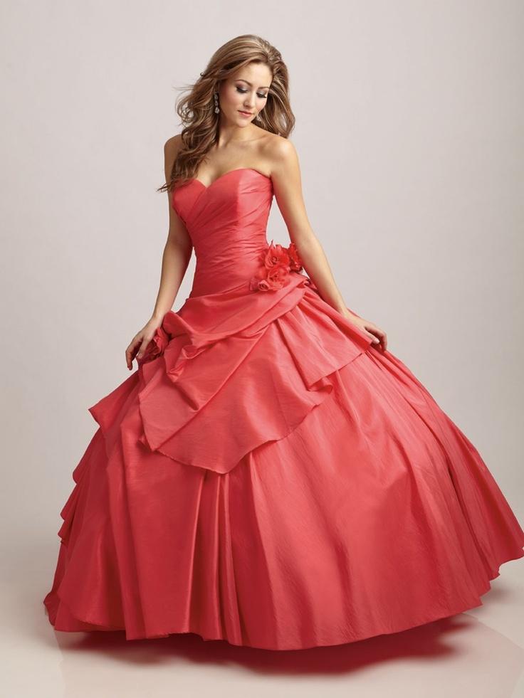 Rojo vestidos de 15