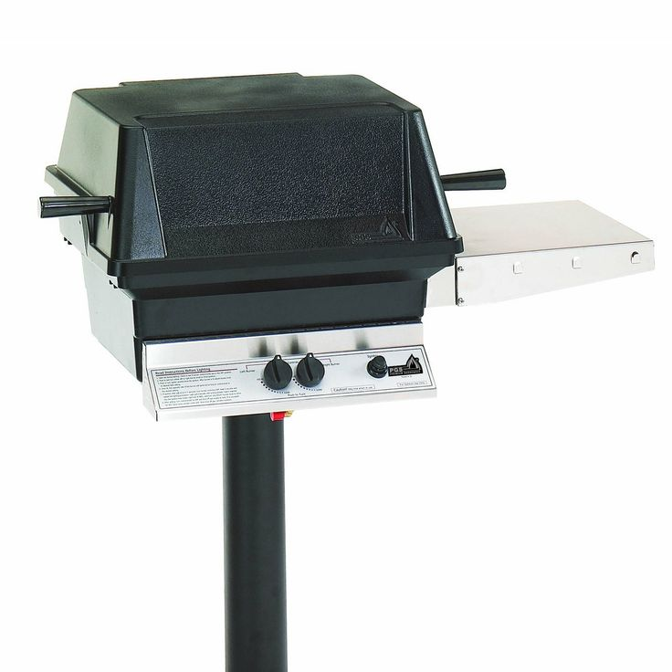 """PGS Grills """"A"""" Series 2-Piece Natural Gas Grill with Post"""