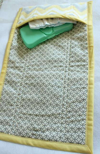 DIY Diaper Bag and Clutch