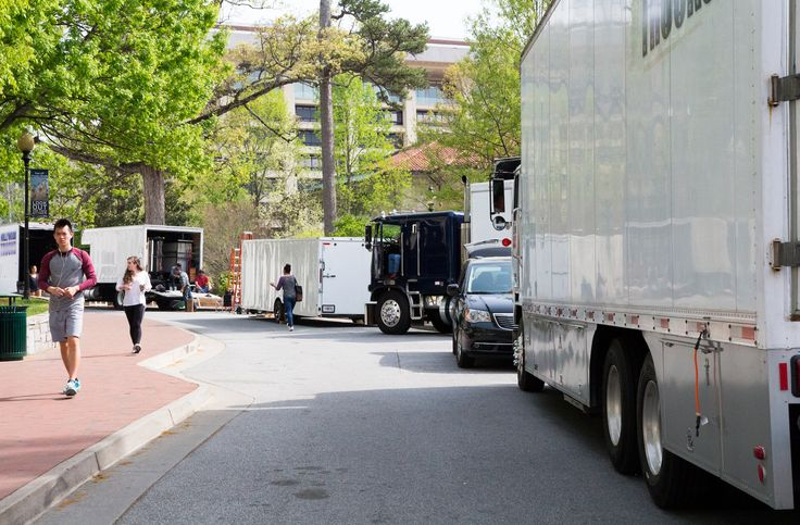PRODUCTION COMPANIES FILM ON EMORY'S CAMPUS