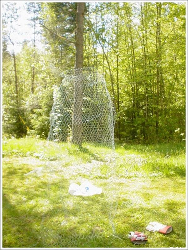 how to chicken wire ghost