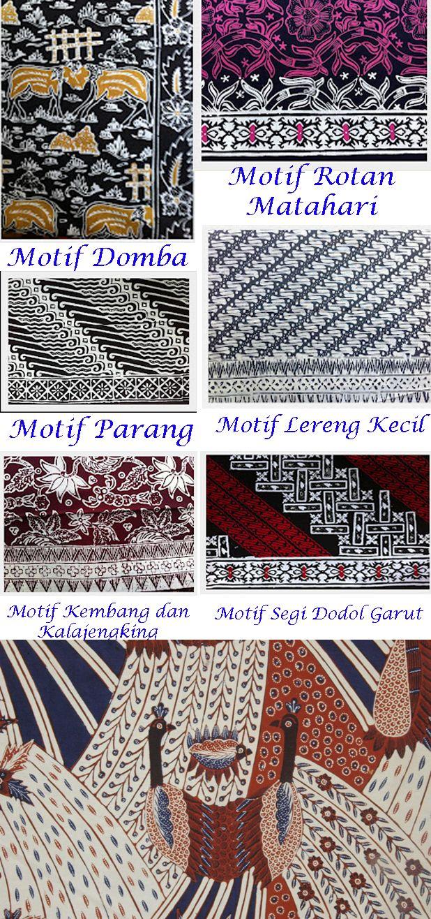 Garut memiliki motif batik yang khas dan menjadi khas dari daerah ini, Motif batik Garut banyak diinspirasi dari khas daerahnya baik fauna maupun flora.