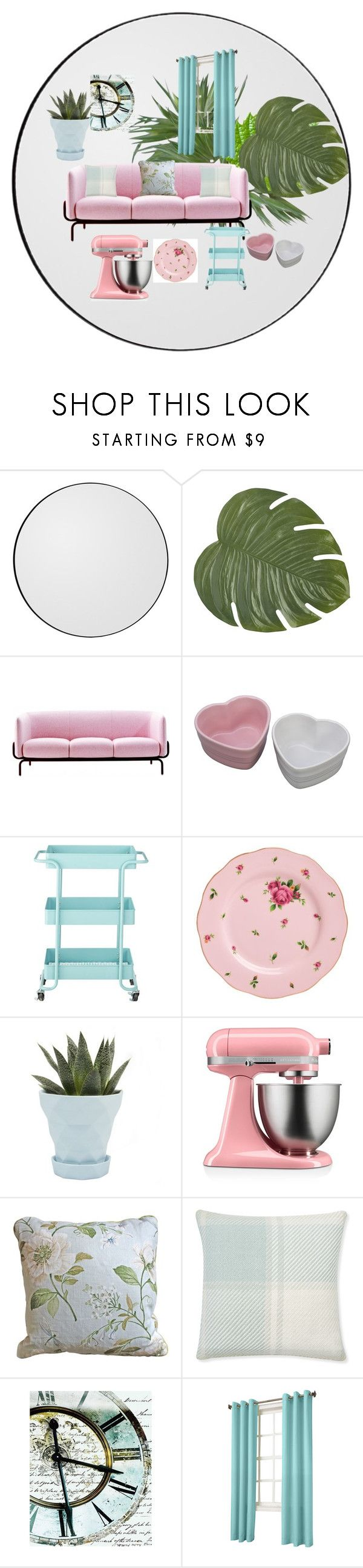 """""""pastelový dekor"""" by ruza2323 ❤ liked on Polyvore featuring interior, interiors, interior design, home, home decor, interior decorating, Pier 1 Imports, MOROSO, Home Decorators Collection and Royal Albert"""
