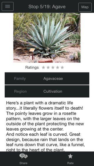 Desert Botanical Garden App - iPhone