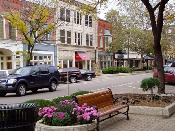 Saugatuck, Michigan. I've been here before, twice, and it is one of the most beautiful small towns ever.
