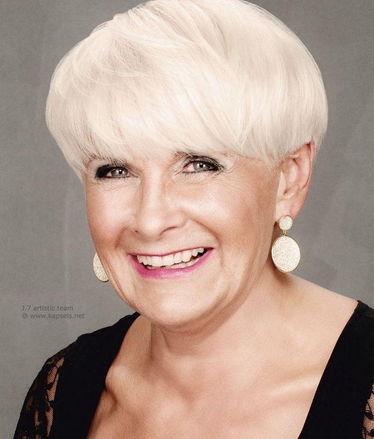 Hiustyylejä yli 50-vuotiaille naisille… Vanhemmat hullaantuvat! Nämä naiset ovat upeita!