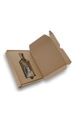 robuust verzenddoosje (voor plat glazen flesje)
