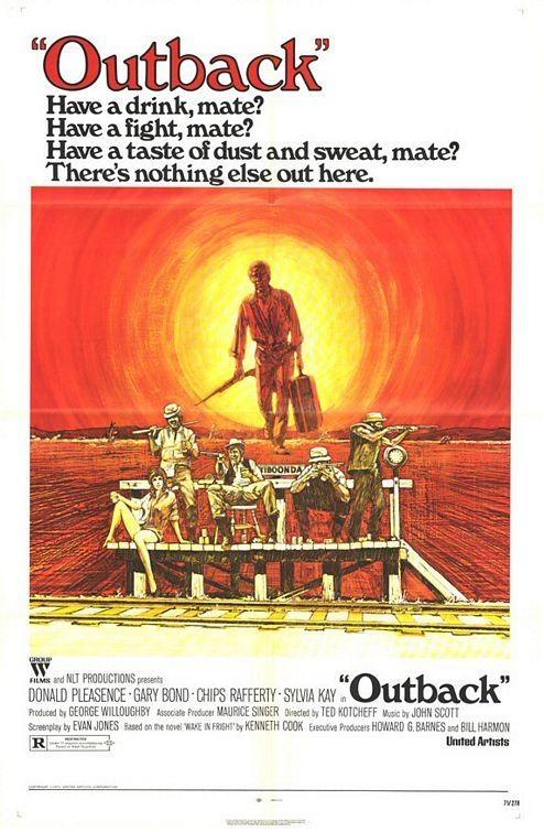 original movie poster for Outback