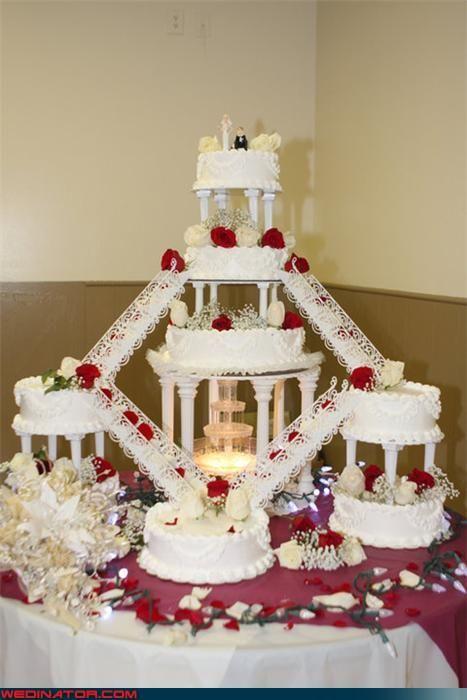 Fountain Wedding Cakes...