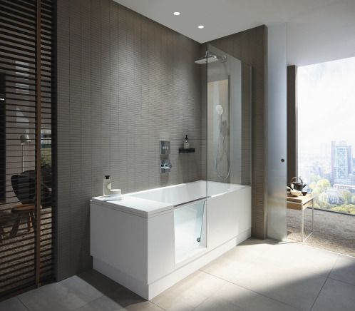 die besten 25 badewanne mit einstieg ideen auf pinterest badewanne mit whirlpool eckwanne. Black Bedroom Furniture Sets. Home Design Ideas