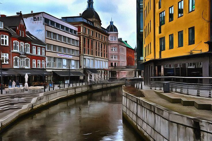 Details from Århus City