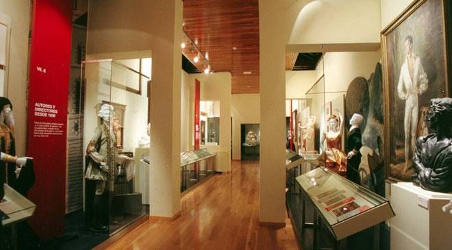 Exposición permanente del Museo Nacional de Teatro. Almagro