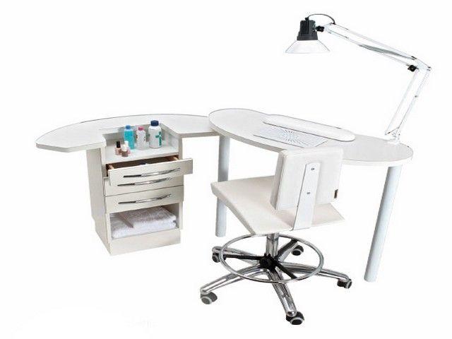 Table Manucure Mobilier Beauté Esthétique FORMAL 2 Full Optional AGV