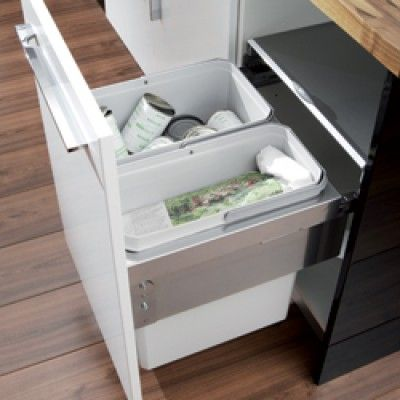 Oko Liner Pull Out Waste Bin For Recycling Kitchen Waste