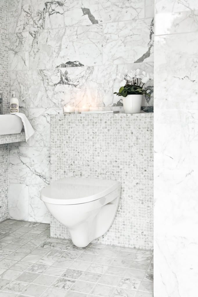 Beautiful white marble