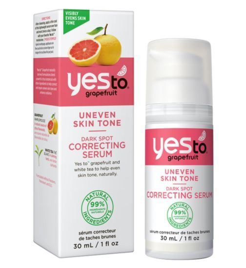 Yes to Grapefruit Dark Spot Correcting Serum 30ml for Uneven Skin Tone - Boots