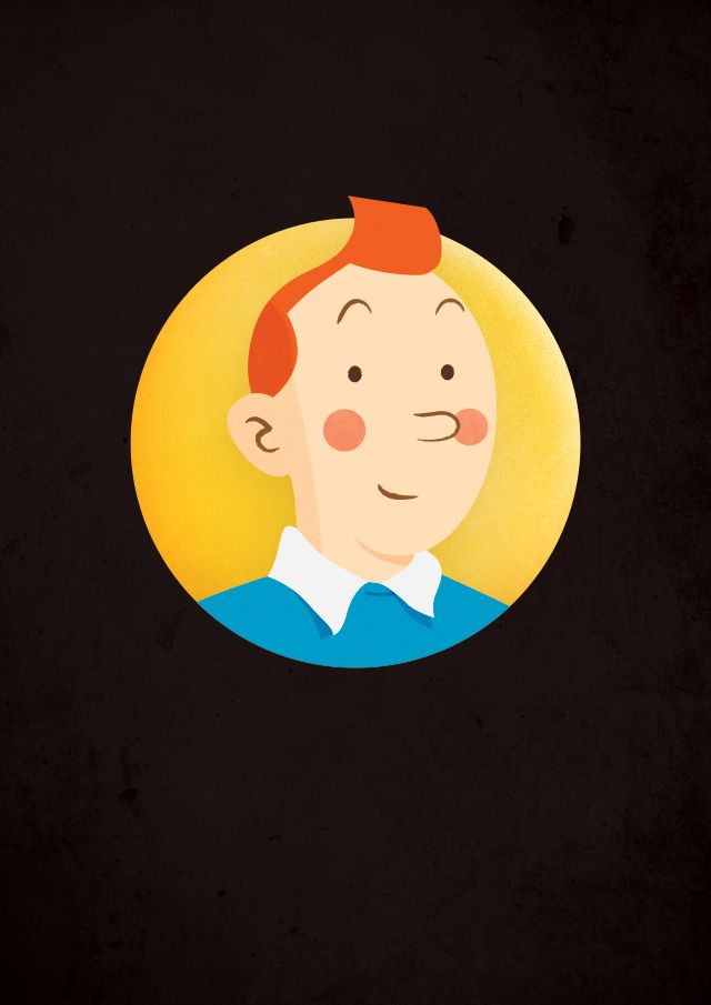 Everybody's favourite Belgian detective (although it's quite close between Tintin and Poirot). #illustration