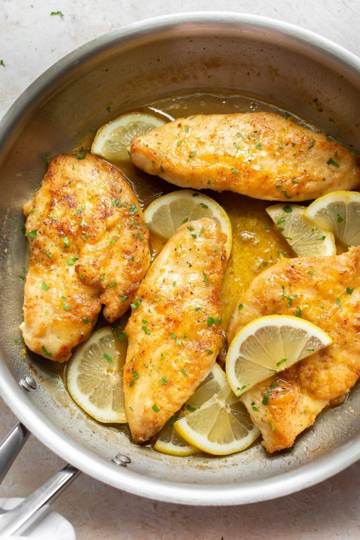 These Glazed Honey Lemon Chicken Breasts Are Quick And Tasty The Amazing Simple Sauce Is Perfe Honey Lemon Chicken Honey Mustard Chicken Recipes Lemon Chicken