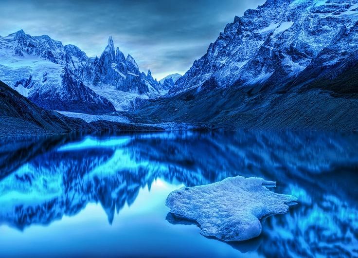 Patagonia mountain #travel #patagonia #glacier #nature #trekking #nature #chile #bedandbreakfast #b #puertovaras