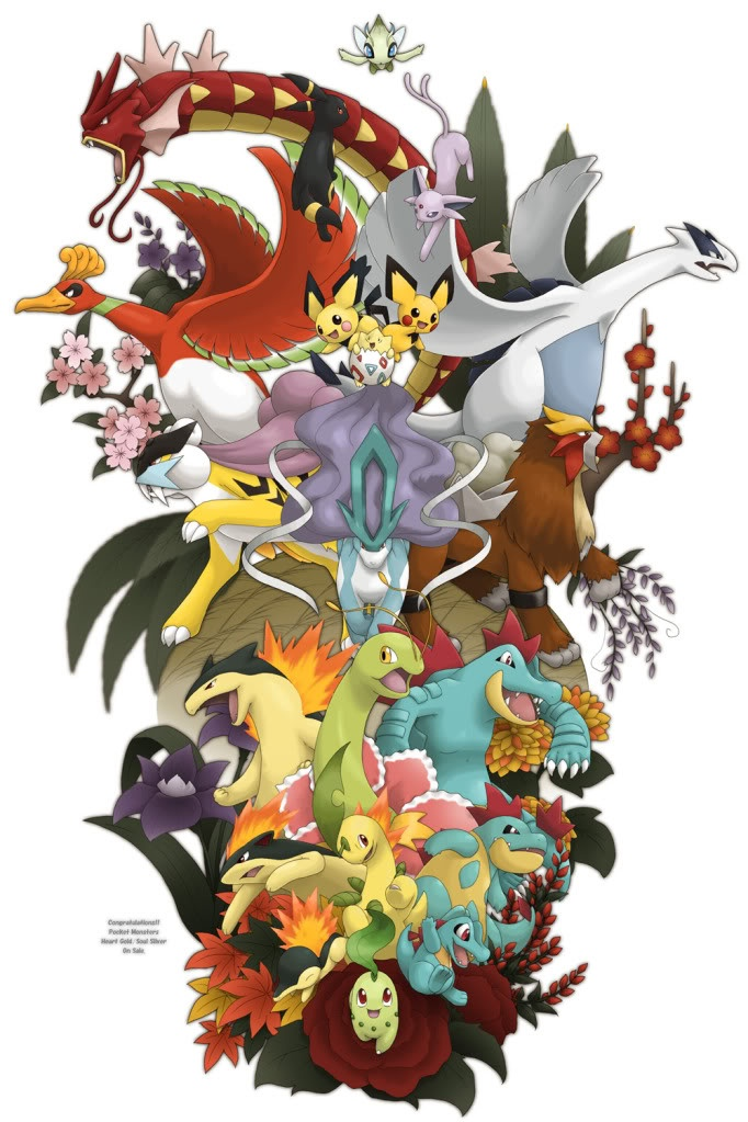 My favorite generation of pokemon! <3