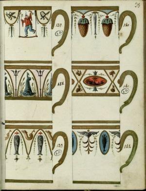 [6 modèles de tasses] | Centre de documentation des musées - Les Arts Décoratifs