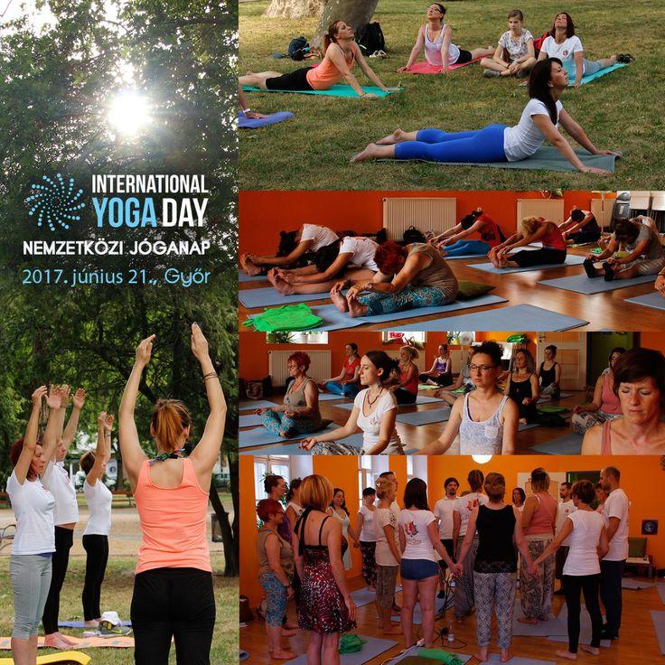 Így ünnepeltük a Jóga világnapját június 21-én :) Spirituális Extázis Ezoterikus Jógaközpont Győr, Kisfaludy utca 2. https://www.facebook.com/tantra.yoga.gyor #Tradicionális #jóga #yoga #hatha #tantra #integrál #meditáció #önismeret #felszabadulás #megvilágosodás #Győr #önfejlesztés #nemzetközi #jóganap