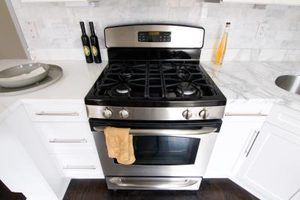 Self-cleaning ovens can reach temperatures of 900 Fahrenheit.