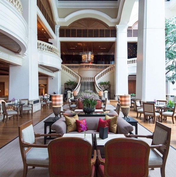 Guests and locals alike flock to the Grand Lobby at Grand Hyatt Erawan for their daily regimen of afternoon tea. The Garden Lounge provides refuge from the heat and is the scene to see and be seen. Photo by recent guest @theshutterwhale.