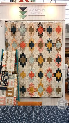 Sweet Tea Quilt Pattern (for purchase) by Amy Friend for BasicGrey. A good choice for a stash of Parson Grey fabrics.