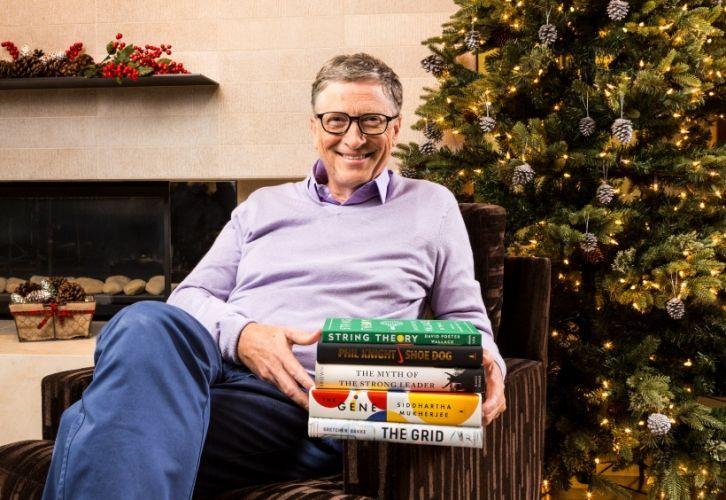 Билл Гейтс назвал пять лучших книг 2016 года