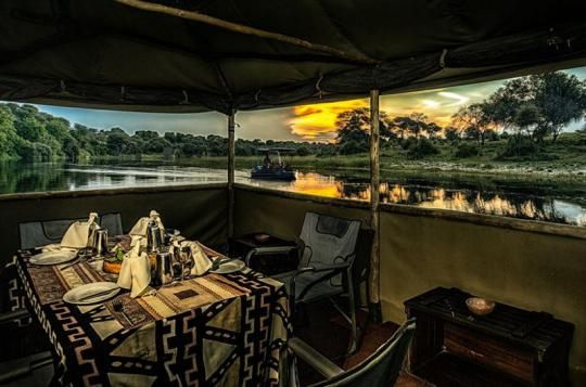 Private dinner at Meno a Kwena Camp  (Makgadikgadi Pans, Botswana). Looks like a place you wanna go? Just let us know: info@gondwanatoursandsafaris.com