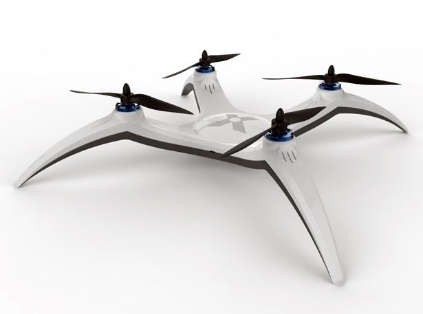 Avi Cohen has submitted his X-Drone Quadcopter concept to Tuvie, a special toy that express his vision of an ultimate drone should look and function.