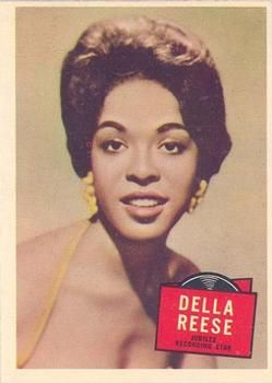 1957 Topps Hit Stars #39 Della Reese Front