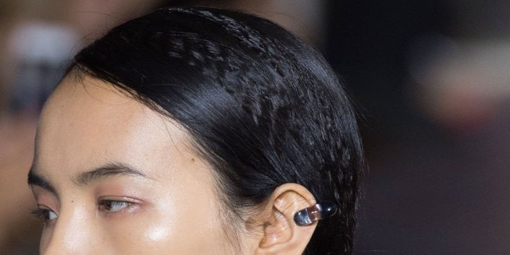 We realize that the return of the '80s has been forecasted time and again to no avail, but Stella McCartney's Spring 2015 ponytails proved the kinky texture has serious chic potential when tamed. If there were ever a time to resurrect the ol' crimping iron, it's now. Editor's Note: Think sections instead of the entire head.  - MarieClaire.com