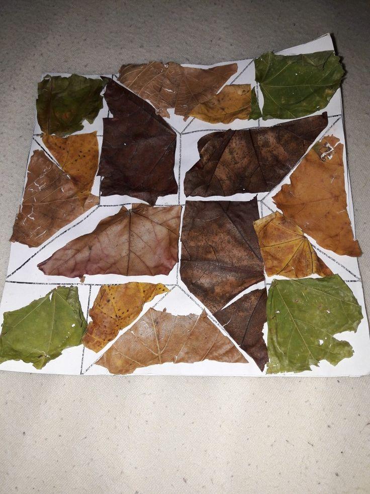 Listy,tangramy