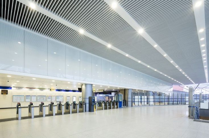Been through Paddington station recently? Armstrong Ceilings are used in the Paddington Integrated Project  Ceiling Contractor:Carlton Ceilings & Partitions Ltd  Main Contractor:Carillion Construction  Client:Crossrail Head Office  Specifier:Weston Williamson & Partners  VP 500 with special bulkheads