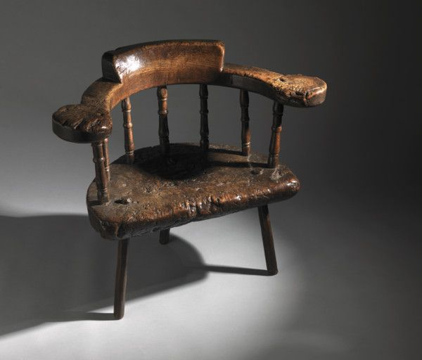 Monumental Early Cardiganshire Chair.