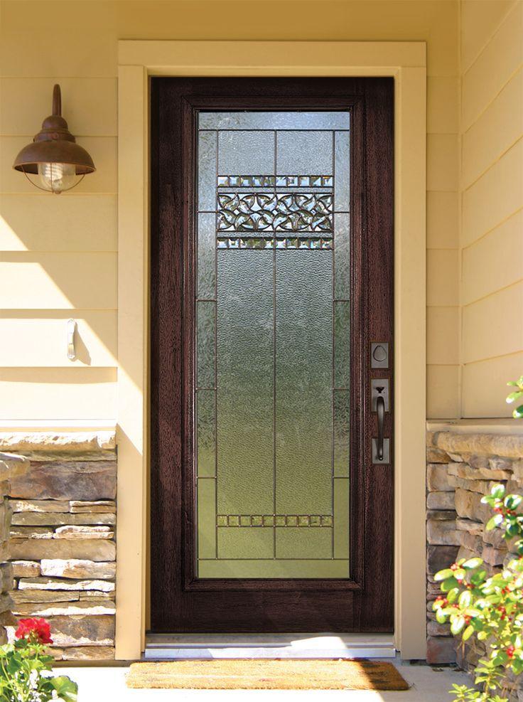 Decorative Wood Doors : Images about elegant wood entry doors on pinterest