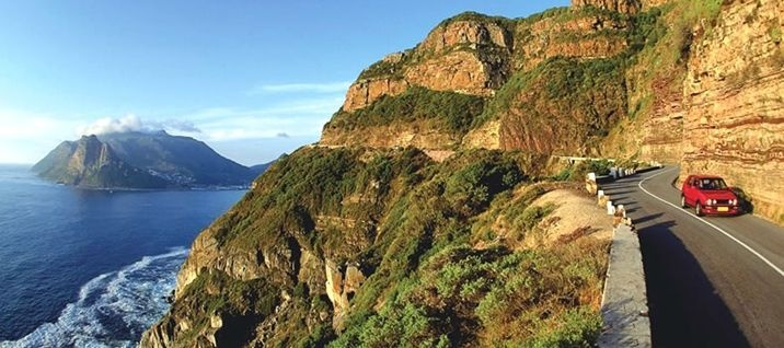 Chapmans Peak Road, near Cape Town, South Africa
