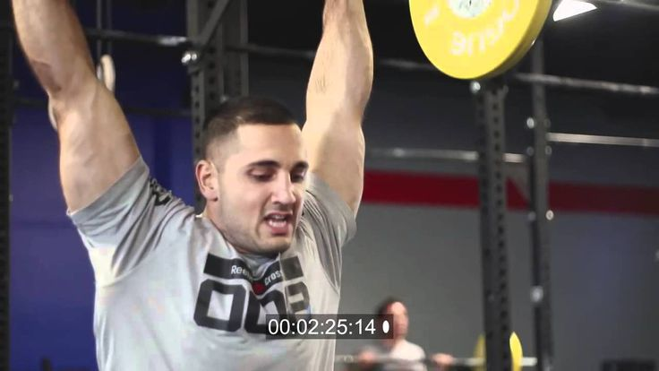 Crossfit workout for Men: Power Training