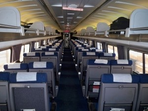 Inside A Amtrak Train Trains Pinterest Best Amtrak