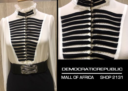 Dress like you already famous! Get this look at DemocraticRepublic Mall of Africa