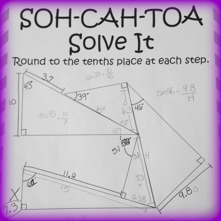Worksheets Sine Cosine And Tangent Practice Worksheet Answers 1000 images about on pinterest maze equation and puzzle using sine cosine tangent geometry trigonometry ratios