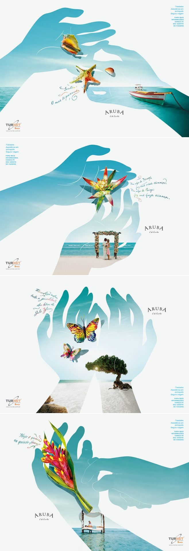Aruba旅游海报