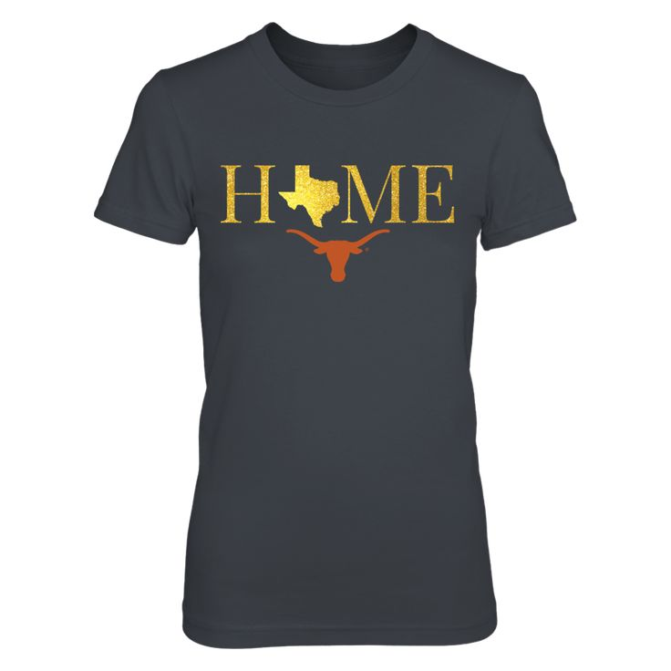 Texas Home in Glittering Gold - Texas Longhorns Apparel