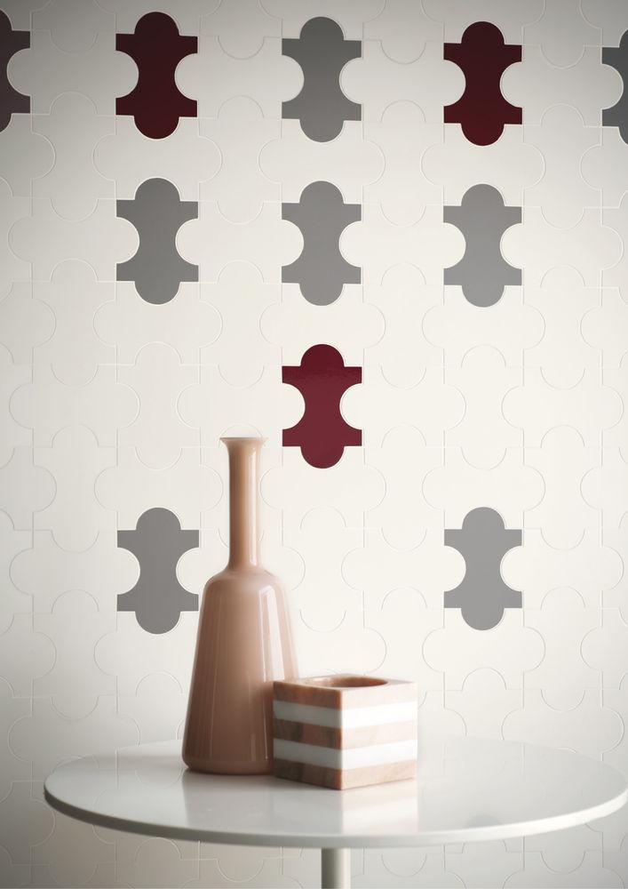#Marazzi Tecnica | Four Curves Tile | Project Triennale | Ceramic for architecture | design by #GioPonti & #AlbertoRosselli